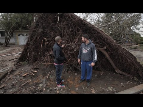 Chris Weidman Shows How Hurricane Sandy Destroyed Home