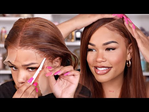 THIS INSTALL IS IT! WATCH ME COLOR + INSTALL THIS 28' LACE FRONTAL WIG