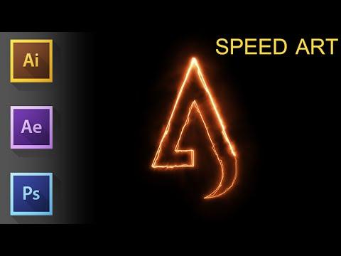 Adobe Illustrator cc speed art ★ A logo