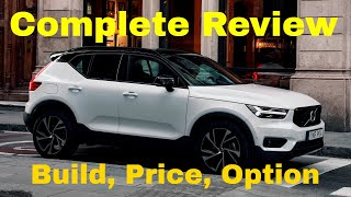2019 Volvo XC40 R-Design T5 AWD Compact SUV - Build Your Own Volvo - Build & Price Review