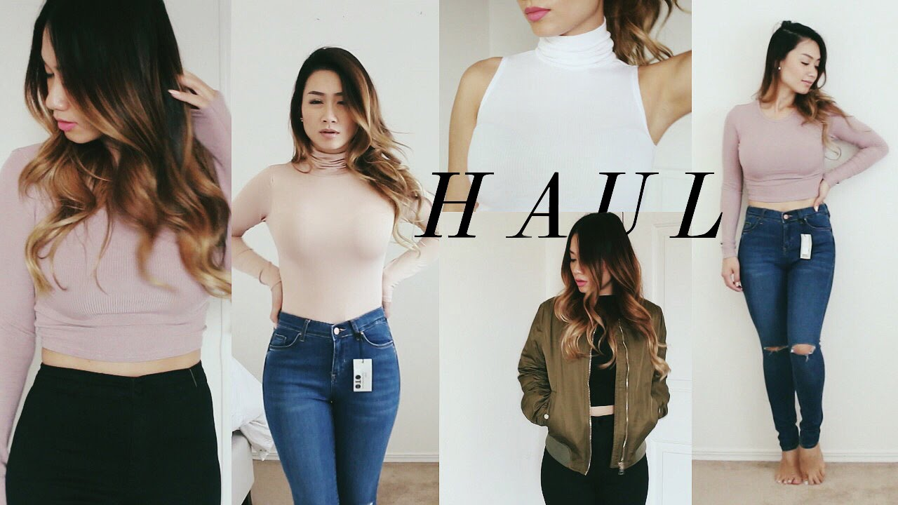 eba73cf0f63 Summer Haul #2: Missguided, TopShop, H&M, Forever 21 | HAUSOFCOLOR - YouTube