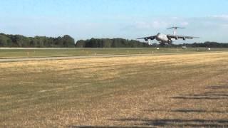 C5 Landing at Oshkosh 2012