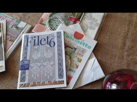 Журналы по вязанию салфеток крючком