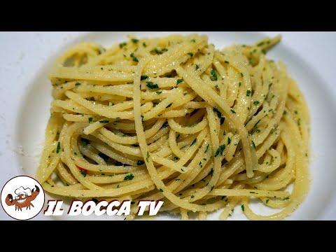328 - Spaghetti alla carrettiera...se la fame si fa nera! (sub eng/esp primo piatto facile e veloce)
