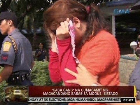 24Oras: 'Gaga Gang' na gumagamit ng magagandang babae sa modus, bistado