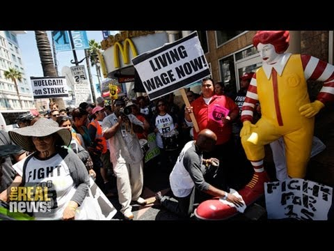 More than Half of Fast Food Workers Rely on Welfare