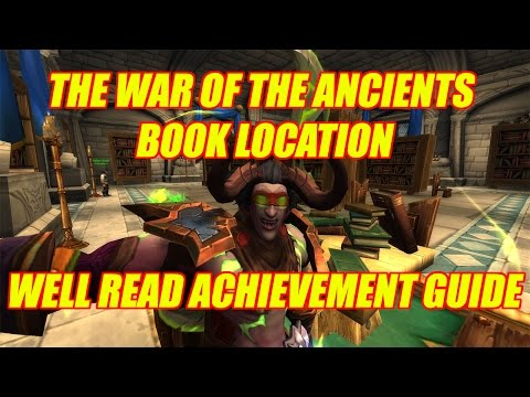 Well Read Achievement - The War Of The Ancients Location Guide - YouTube