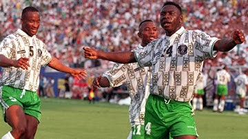 Super Eagles - Nigeria 1994-2002