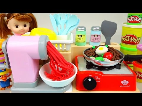 Play Doh Cooking Spaghetti Kitchen Toys & Baby Doll - ToyPudding