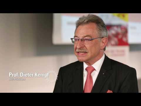 Interview mit BDI-Präsident Prof. Dieter Kempf beim Mittelstandsgipfel PEAK 2017
