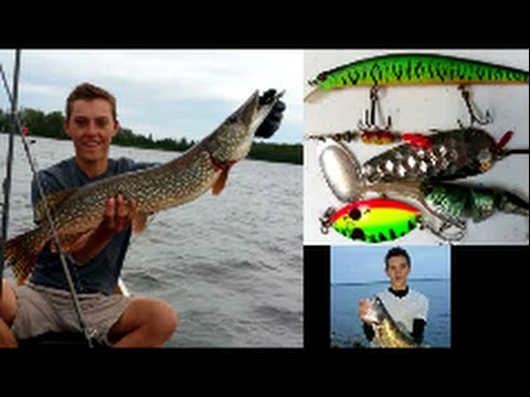 Best Lures For Minnesota Fishing In Boundary Waters Canoe Area BWCA (Pike, Walleye, Bass)