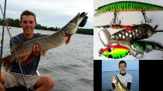 best lures for minnesota fishing in boundary waters canoe area bwca pike walleye bass