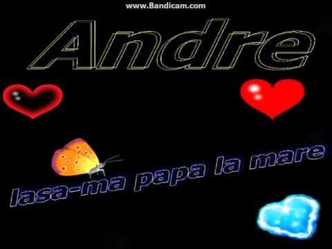 lasa-ma papa la mare-Andre