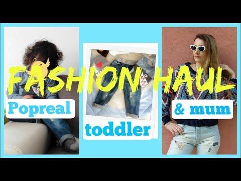 TODDLER BOY & MUM FASHION HAUL | POPREAL