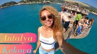 İşte Türkiye'nin En FANTASTİK Tekne Turu !! ANTALYA- KEKOVA