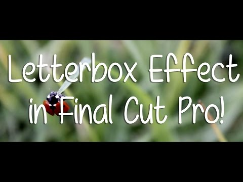how to rotate video in final cut pro x