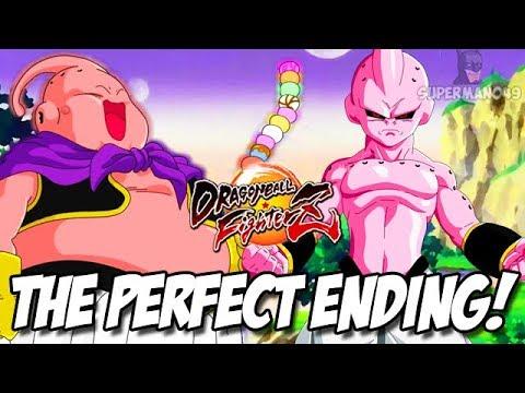 The PERFECT Finish! Kid Buu Is UNSTOPPABLE - Dragon Ball FighterZ Android 21, Kid Buu & Majin Buu