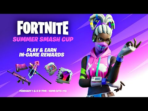 Fortnite Summer Smash Cup Tournament Live! (Trying To Win Free Rewards)