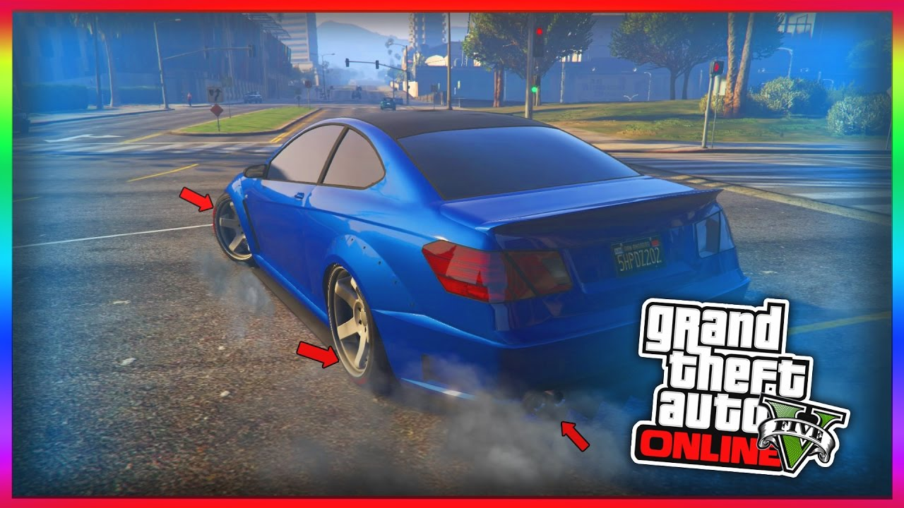 Gta Online Top Drift Cars How To Make Any Car Drift Gta