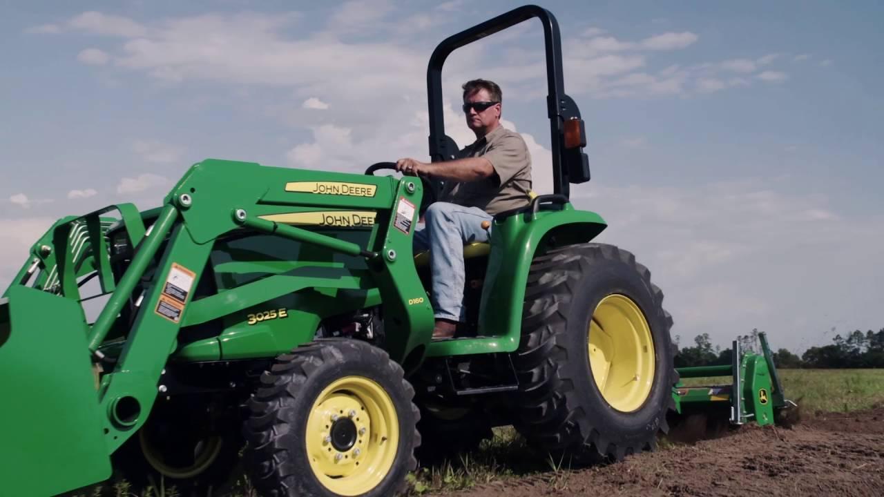 John Deere E Vs Kubota L Compact Tractors