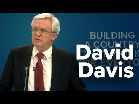 David Davis: Speech to Conservative Party Conference 2017