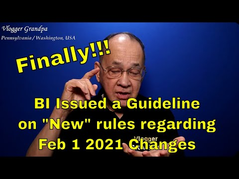 Philippine Bureau Of Immigration Guideline Regarding Entry As Of Feb 1 2021 [No More 36-Country Ban]