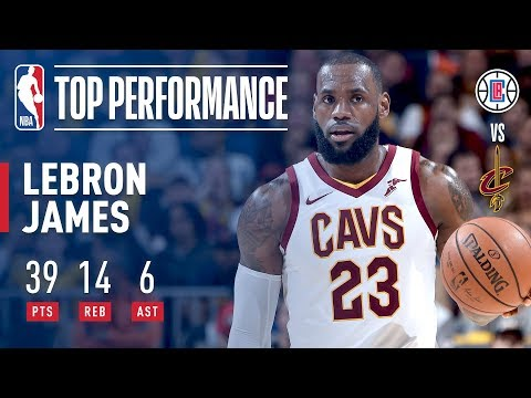 LeBron James Scores 39 in Overtime Win vs. Clippers | November 17, 2017