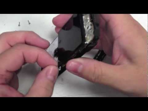 How To Change/Replace an lcd screen on a blackberry 9700 9780