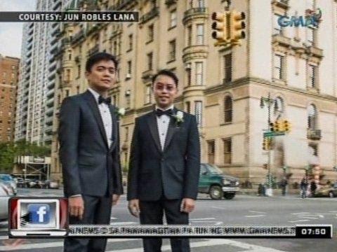 24 Oras: Jun Lana, ikinasal sa boyfriend na si Perci Intalan