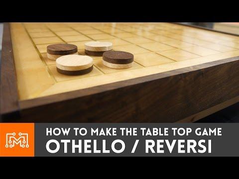 How to make Othello / Reversi (tabletop game)