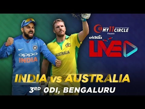 Cricbuzz LIVE: India V Australia, 3rd ODI, Pre-match Show