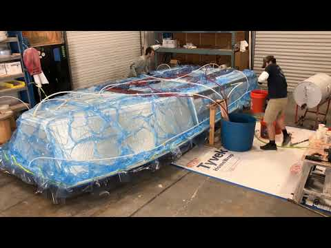 Resin Infusion - Stuart Boatworks