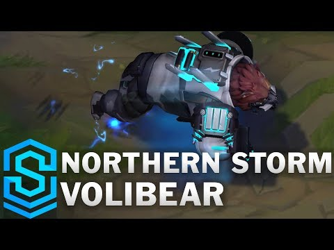 Northern Storm Volibear Skin Spotlight - Pre-Release - League of Legends
