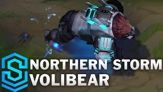 Northern Storm Volibear Skin Spotlight - Pre-Release - League of Legends