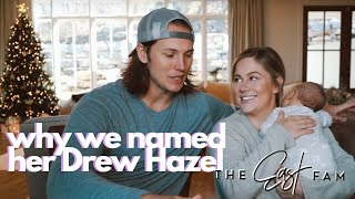 how we named our baby | the east family