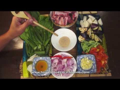 Paano magluto Sinigang na Buto Buto Baboy - Pork Ribs Recipe - Tagalog Pinoy Filipino Cooking