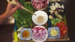 Sinigang Na Buto Buto Baboy - Pork Ribs Recipe - Tagalog Pinoy Filipino Cooking