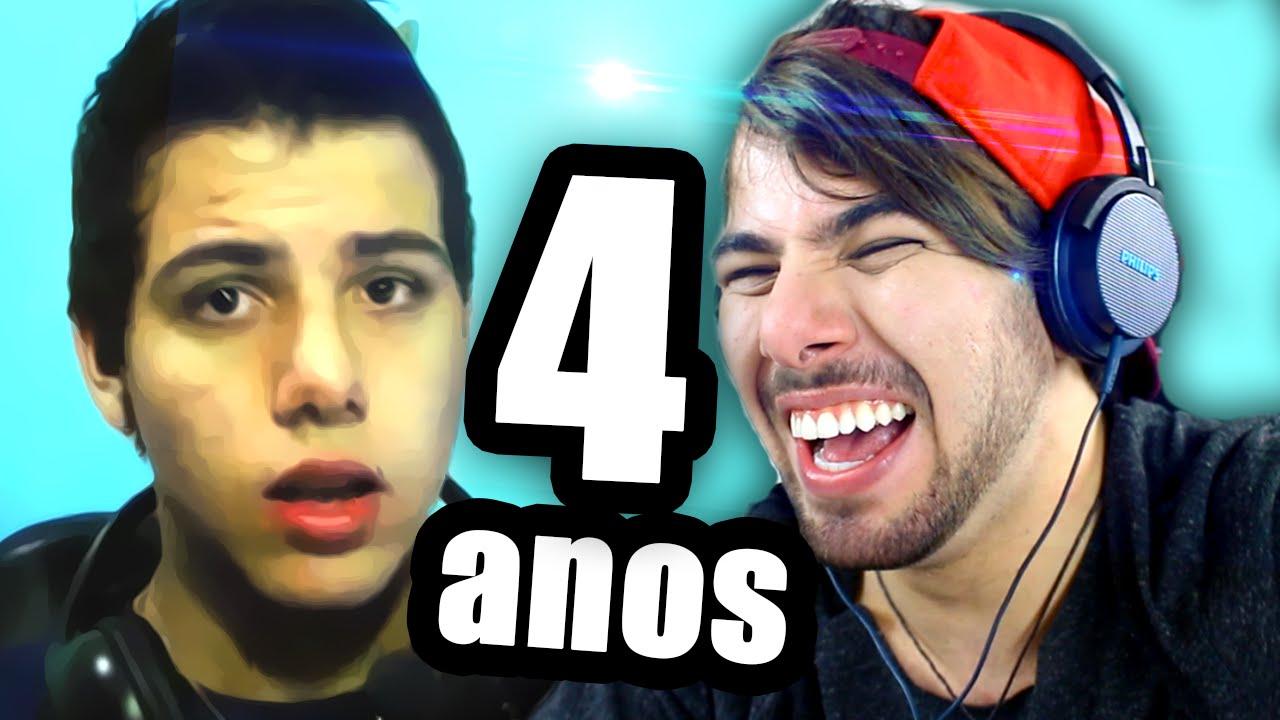 REAGINDO AOS MEUS VDEOS ANTIGOS  by T3ddy  YouTube