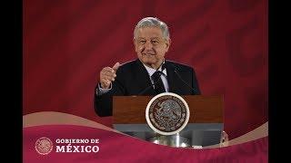 #ConferenciaPresidente   Martes 15 de enero de 2019