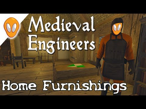 Placing Our Furniture | Medieval Engineers Survival Ep8