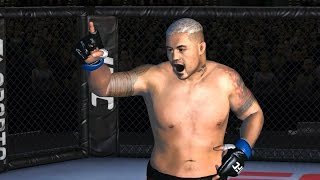 EA SPORTS UFC android gameplay - Offline MARK HUNT (heavyweight) showcase /gaming tips