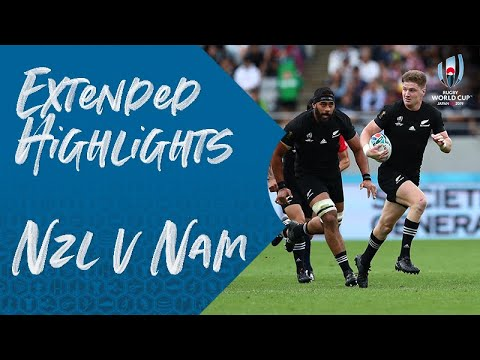Extended Highlights: New Zealand 71-9 Namibia - Rugby World Cup 2019