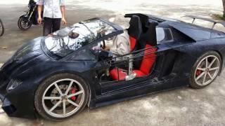 Lamborghini handmade by MIT laoin4