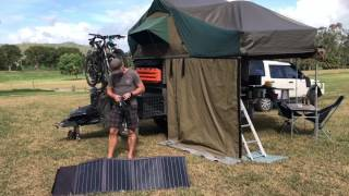 Projecta 80W Foldable Solar Panel Review