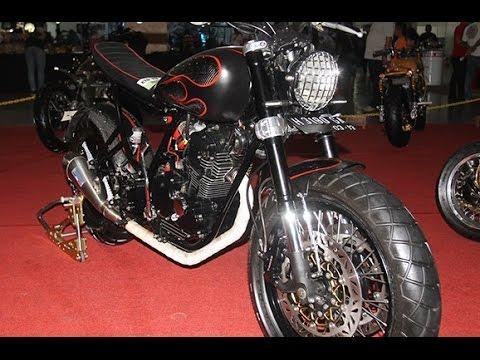 Kontes Yamaha Scorpio Custom Japstyle Bratstyle Dan Old Skool