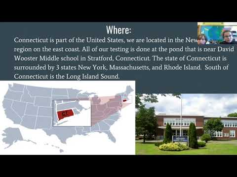 ENSO SODA Phase III Webinar Live From David Wooster Middle School Stratford CT April 26 2018