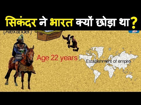 Ancient History : Why Alexander The Great Decide To Turn Back From India?