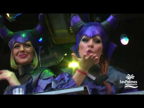 Cabalgata del Carnaval de Las Palmas de Gran Canaria 2018