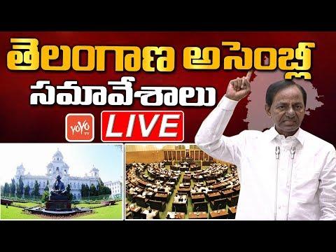 Telangana Assembly LIVE | CM KCR LIVE | Telangana Municipal Act 2019 | Harish Rao | KTR | YOYO TV