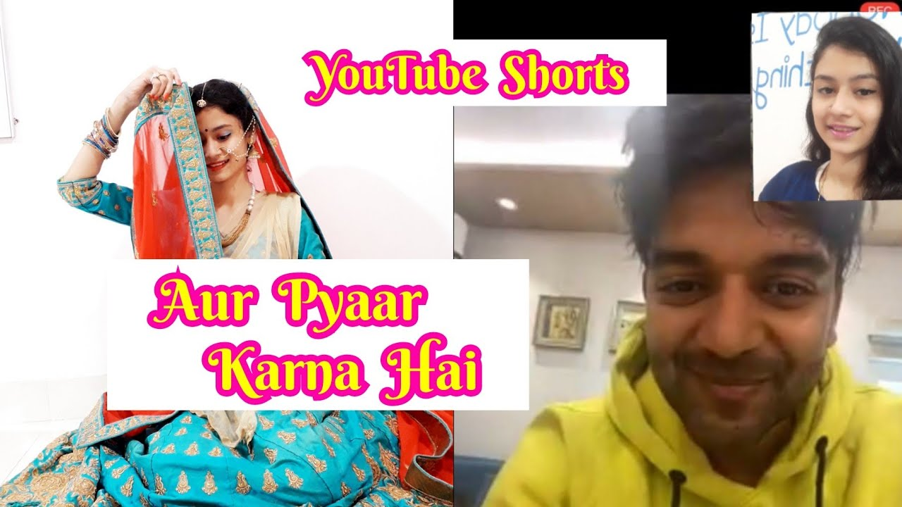 Aur Pyaar Karna Hai   Video Call With Guru Randhawa 😍   #Shorts #ytshorts